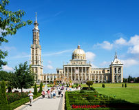 Basilica of Our Lady of Licheń in Poland Stock Images