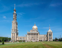 Basilica of Our Lady of Licheń in Poland Royalty Free Stock Photo