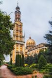 Basilica of Our Lady of Lichen, Poland 2018-09-22, Beautiful Lichen colorful old city, the biggest catholic church in Poland. stock photos