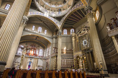 Basilica of Our Lady of Lichen, Poland Stock Image
