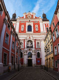 Basilica of Our Lady of Perpetual Help in Poznan Royalty Free Stock Photography