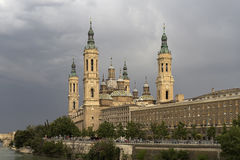 Basilica of Our Lady of the Pilar Royalty Free Stock Image