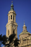 Basilica of our Lady of the Pilar Stock Image