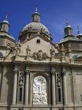 Basilica of Our Lady of the Plilar Zaragoza Spain Stock Photo