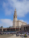 Basilica of Our Lady of the Rosary, Fatima Royalty Free Stock Photo