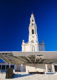 Basilica of Our Lady of the Rosary in Fatima, Portugal Royalty Free Stock Photo