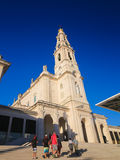 Basilica of Our Lady of the Rosary in Fatima, Portugal Stock Image