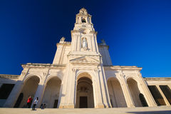Basilica of Our Lady of the Rosary in Fatima, Portugal Royalty Free Stock Photos