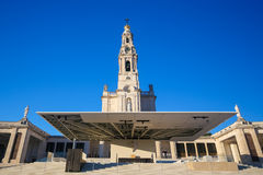 Basilica of Our Lady of the Rosary in Fatima, Portugal Stock Images