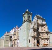 Basilica of Our Lady of Solitude in Oaxaca de Juarez, Mexico. Basilica of Our Lady of Solitude in Oaxaca de Juarez. Mexico Stock Photo