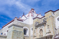 The Basilica of Our Lady of Solitude in Oaxaca Mexico Stock Image