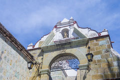 The Basilica of Our Lady of Solitude in Oaxaca Mexico Royalty Free Stock Image
