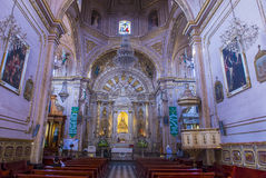 The Basilica of Our Lady of Solitude in Oaxaca Mexico Stock Photos