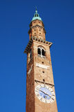 Basilica Palladiana Clock Tower, Torre Bissara Royalty Free Stock Photography
