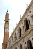 Basilica Palladiana in piazza dei Signori in vicenza in Italy Royalty Free Stock Photography