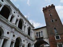 Basilica Palladiana a Vicenza in Italia Fotografie Stock