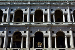 Basilica Palladiana wonderful renaissance Loggia in Vicenza royalty free stock photography