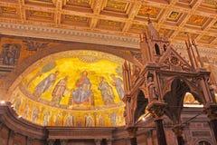 Basilica papale di Saint Paul Immagini Stock