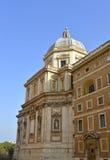 Basilica Papale di Santa Maria Maggiore. The historical Basilica Papale di Santa Maria Maggiore church in Rome Stock Images
