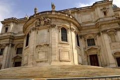 Basilica Papale di Santa Maria Maggiore. The historical Basilica Papale di Santa Maria Maggiore church in Rome Royalty Free Stock Image