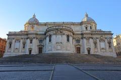 Basilica Papale di Santa Maria Maggiore in Rome,. Italy Royalty Free Stock Images