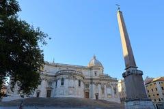 Basilica Papale di Santa Maria Maggiore in Rome,. Italy Stock Images