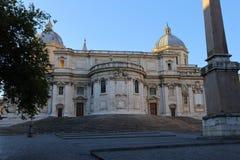 Basilica Papale di Santa Maria Maggiore in Rome,. Italy Stock Photography