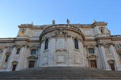Basilica Papale di Santa Maria Maggiore in Rome,. Italy Stock Photo