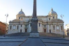 Basilica Papale di Santa Maria Maggiore in Rome,. Italy Royalty Free Stock Image