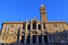 Basilica Papale di Santa Maria Maggiore in Rome,. Italy Stock Image