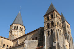 Basilica of Paray-le-Monial Royalty Free Stock Photography