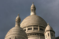basilica paris Arkivfoto