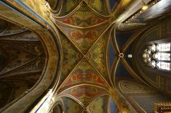 Basilica Petri and Pauli interior architecture details Royalty Free Stock Photography