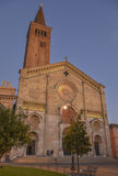Basilica a Piacenza Fotografia Stock