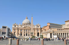 basilica pietro san Arkivbilder