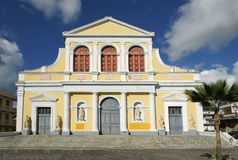 Basilica of Pointe-a-Pitre, Guadeloupe, Caribbean Royalty Free Stock Photography