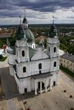 Basilica in Poland Stock Photo