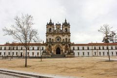 Basilica in Portugal stock images