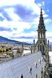 Basilica Quito, Ecuador Fotografie Stock Libere da Diritti