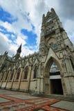 Basilica in Quito, Ecuador. Royalty Free Stock Images