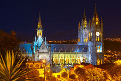 Basilica In Quito Royalty Free Stock Photography