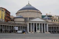 Basilica Reale Pontificia San Francesco Di Paola Stock Photo