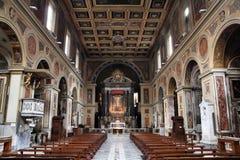 Basilica in Rome Stock Photo
