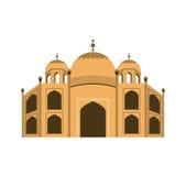 Basilica of Rome landmark icon Royalty Free Stock Image