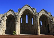 Basilica ruins, Rhodes. Royalty Free Stock Image