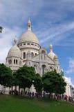 Basilica Sacré-Coeur of Paris Stock Photo