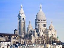 Basilica Sacré-Coeur Paris. Basilica Sacré-Coeur at Montmartre, Paris Stock Photography