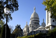 Basilica of the Sacré Coeur Royalty Free Stock Photo