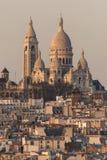 The Basilica of Sacré-Cœur Royalty Free Stock Images