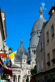 Basilica of the Sacré Cœur Stock Photography